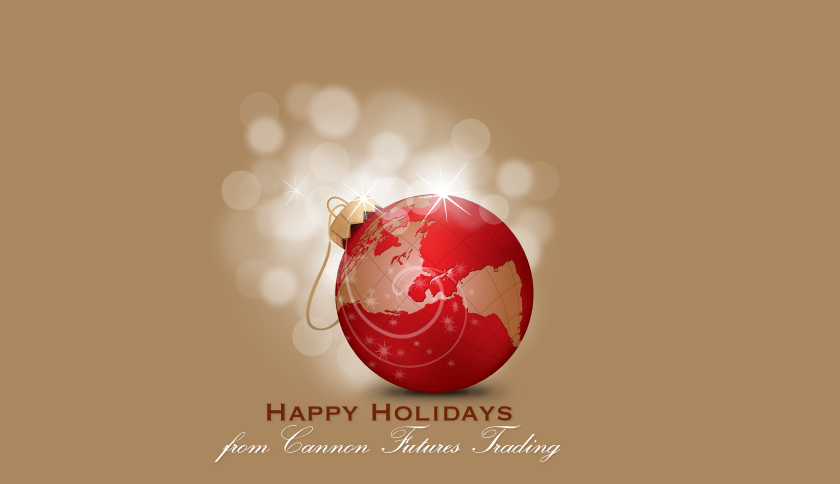 happy holidays from Cannon Trading