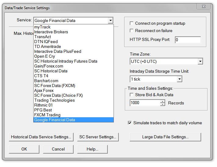 Sierra Chart Download - SierraChart Trading Platform FREE Demo
